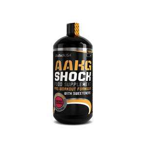 BiotechUSA AAKG Shock Extreme Orange 1000 ml Flasche