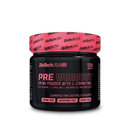 BiotechUSA FOR HER Pre Workout Cosmopolitan 120 g Dose