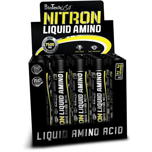 BiotechUSA Liquid Amino Ampulle (Nitron) Orange 20*25 ml Ampulle
